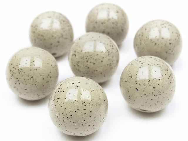 天然石【粒販売】北投石 丸玉 12mm【2粒販売 1,060円】ビーズとパワーストーン
