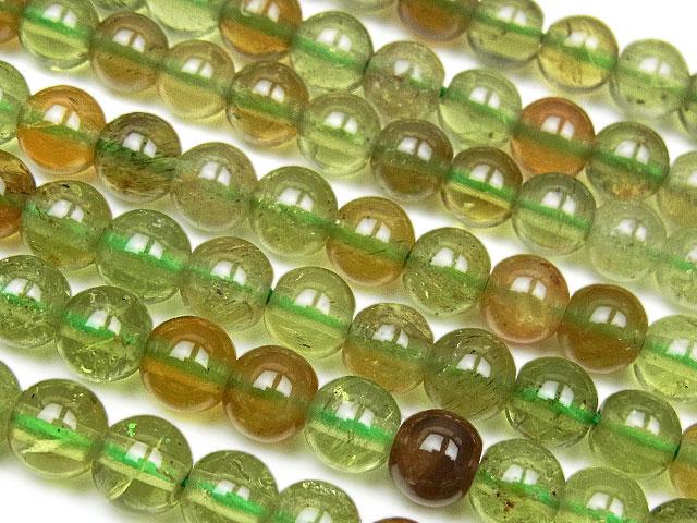 天然石【連販売】グリーンアパタイト 丸玉 6mm【半連 990円〜】ビーズとパワーストーン