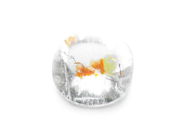 天然石ブラジル産 レッドヘマタイトクォーツ ルース No.2【1点もの 2,200円】ビーズとパワーストーン