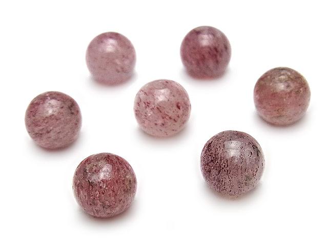 天然石【粒販売】ピンクエピドート 丸玉 8mm【4粒販売 520円】ビーズとパワーストーン