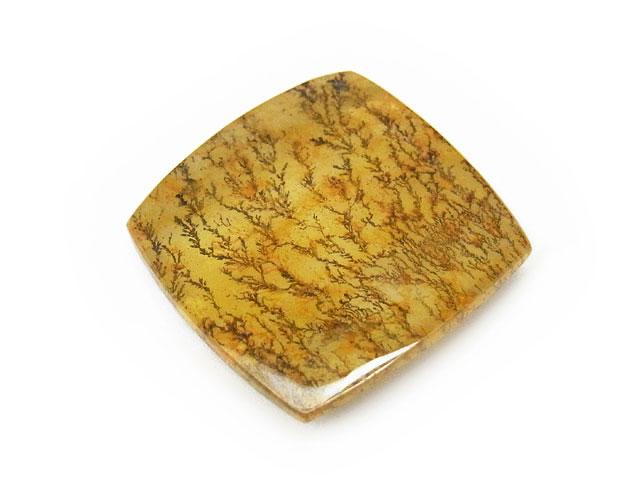 天然石【粒販売】ブラジル産デンドライトクォーツ ルース No.19【1点もの 4,500円】ビーズとパワーストーン