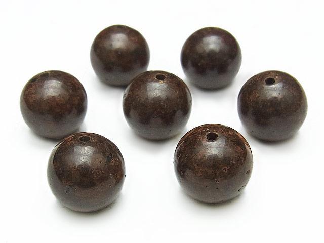 天然石【粒販売】サハラNWA869 コンドライト隕石 丸玉 10mm【1粒販売 1,430円】ビーズとパワーストーン