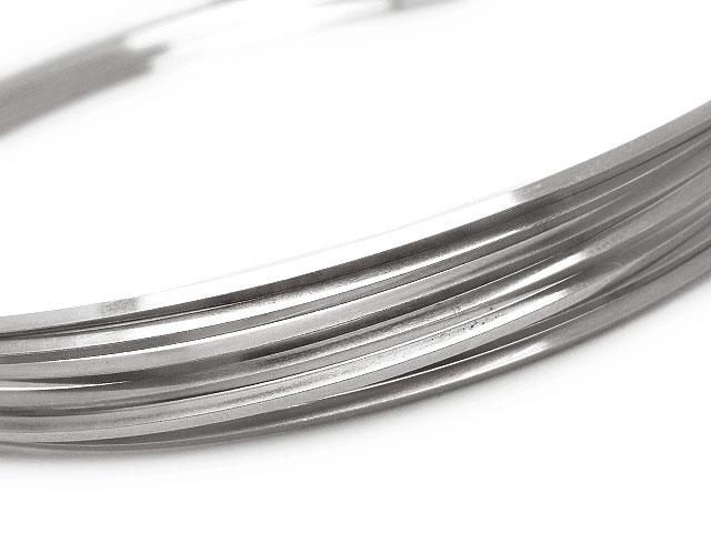 ビーズ天然石SILVER925 ワイヤー[ハーフハード] 16GA(1.29mm)[スクエア]【25cm販売 730円〜】とパワーストーン