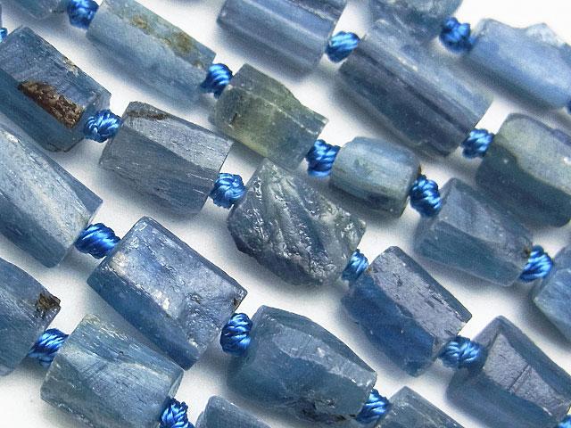 天然石【連販売】カイヤナイト ラフロック 5〜10mm【1連 1,800円】ビーズとパワーストーン