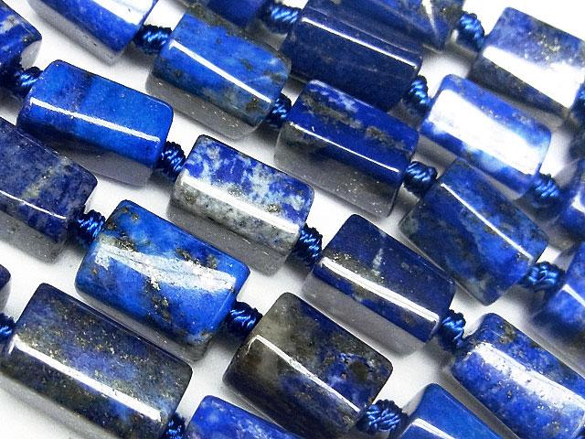 天然石【連販売】ラピスラズリ ナゲットカット 7〜11mm【1連 1,800円】ビーズとパワーストーン