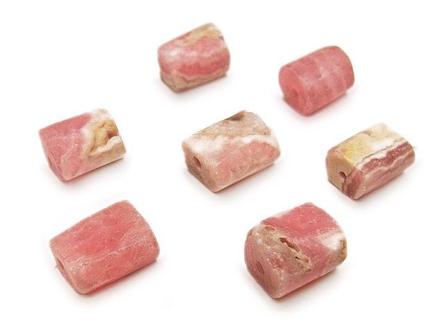 天然石【粒販売】アルゼンチン産 インカローズ ナゲットカット 6〜10mm【6粒販売 480円】ビーズとパワーストーン