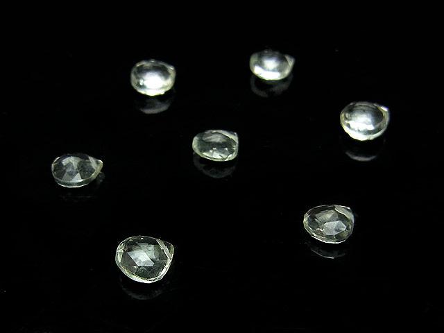 天然石【粒販売】グリーンアメジスト マロンカット 5mm【6粒販売 400円】ビーズとパワーストーン