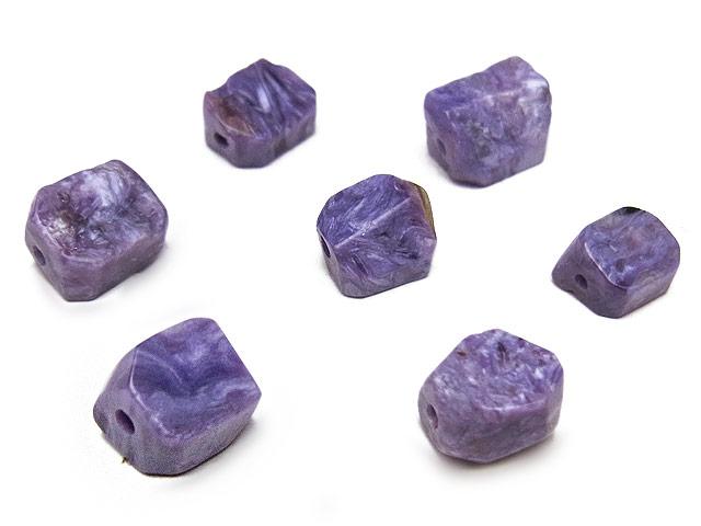 天然石【粒販売】チャロアイト ラフロック 7〜10mm【6粒販売 480円】ビーズとパワーストーン