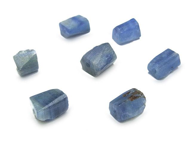 天然石ビーズ【粒販売】カイヤナイト ラフロック 5〜10mm【8粒販売 490円】とパワーストーン