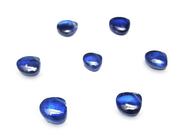 天然石【粒販売】ブラジル産 カイヤナイト マロン 5〜6mm【4粒販売 720円】ビーズとパワーストーン
