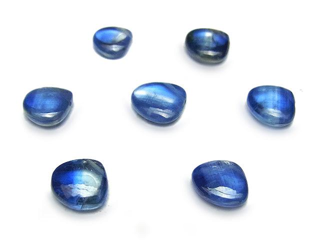 天然石【粒販売】ブラジル産 カイヤナイト マロン 6〜7mm【5粒販売 1,190円】ビーズとパワーストーン