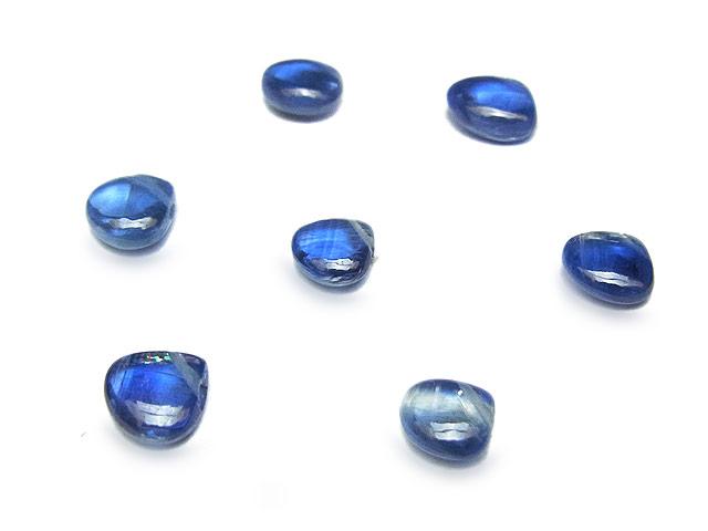 天然石【粒販売】ブラジル産 カイヤナイト マロン 5〜6mm【6粒販売 930円】ビーズとパワーストーン