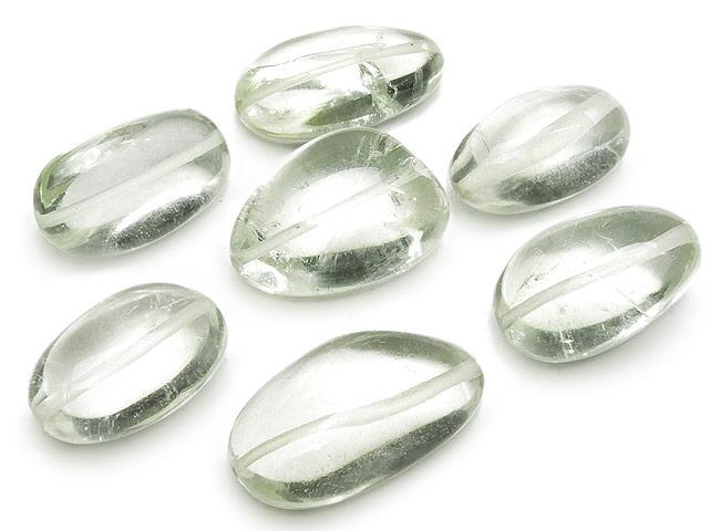 天然石【粒販売】グリーンアメジスト ナゲット 18〜24mm【2粒販売 1,680円】ビーズとパワーストーン