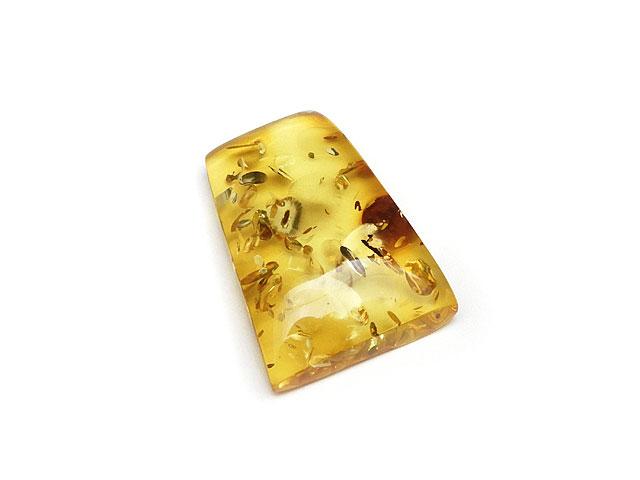 ビーズ天然石バルティックアンバー(琥珀) ルース No.15【1点もの 3,000円】とパワーストーン