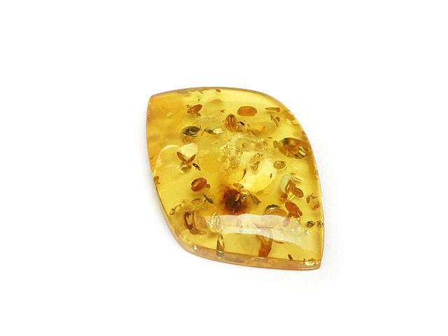 ビーズ天然石バルティックアンバー(琥珀) ルース No.16【1点もの 3,500円】とパワーストーン