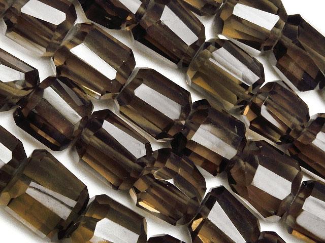 天然石【連販売】スモーキークォーツ ナゲットカット 6〜12mm[プレミアムカット]【半連 7,040円〜】ビーズとパワーストーン