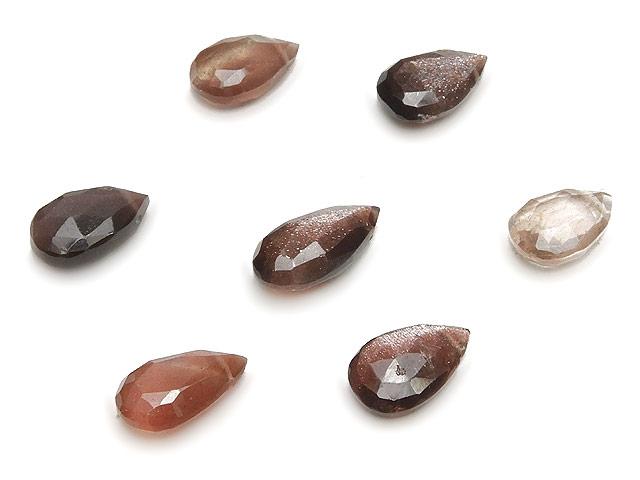 天然石【粒販売】スキャポライト ペアシェイプカット 9〜10mm【3粒販売 600円】ビーズとパワーストーン