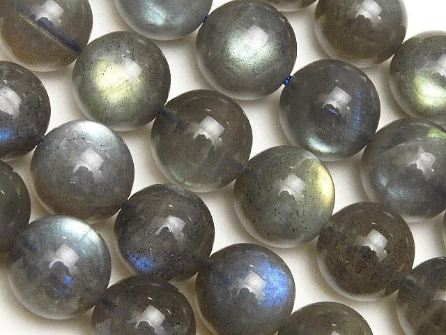 天然石【連販売】ラブラドライト 丸玉 10mm【半連 3,080円〜】ビーズとパワーストーン