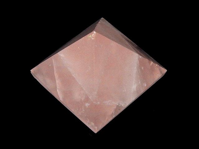 天然石ビーズ【粒販売】ローズクォーツ ピラミッド【1コ販売 250円】とパワーストーン