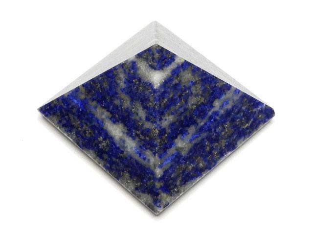 天然石【粒販売】ラピスラズリ ピラミッド【1コ販売 350円】ビーズとパワーストーン