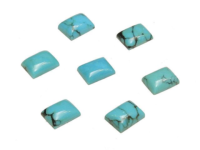 ビーズ天然石【粒販売】ターコイズ カボション 8×6mm【1コ販売 400円】とパワーストーン