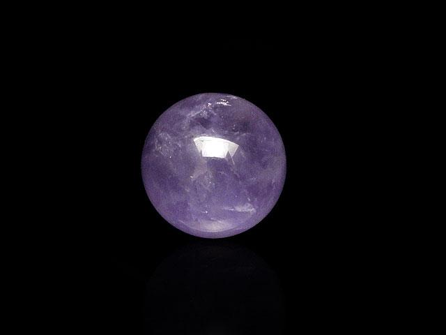 天然石【粒販売】ラベンダーアメジスト 丸玉 20mm[穴なし]【1コ販売 900円】ビーズとパワーストーン