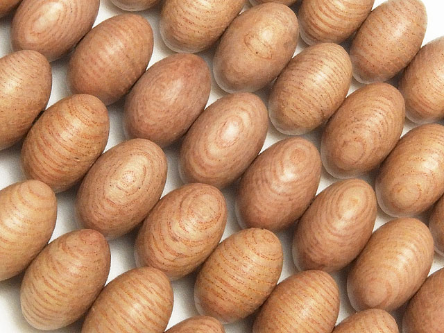 天然石【連販売】[ウッドビーズ]ローズウッド ロンデル 10×6mm【1連 500円】ビーズとパワーストーン