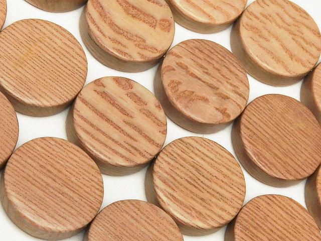 天然石【連販売】[ウッドビーズ]ローズウッド コイン 15×4mm【1連 500円】ビーズとパワーストーン
