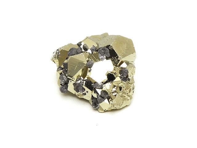 天然石パイライト結晶 No.2【1点もの 2,800円】ビーズとパワーストーン