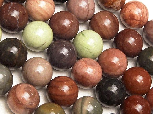 天然石【連販売】インペリアルジャスパー 丸玉 8mm【1連 1,200円】ビーズとパワーストーン