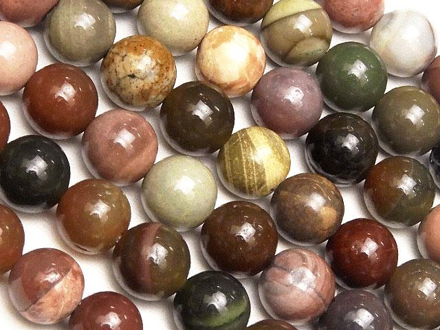 天然石【連販売】インペリアルジャスパー 丸玉 6mm【1連 1,000円】ビーズとパワーストーン