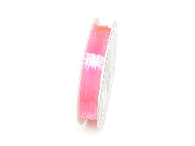 ビーズ天然石アンタロンゴム ピンク【1コ販売 100円】とパワーストーン