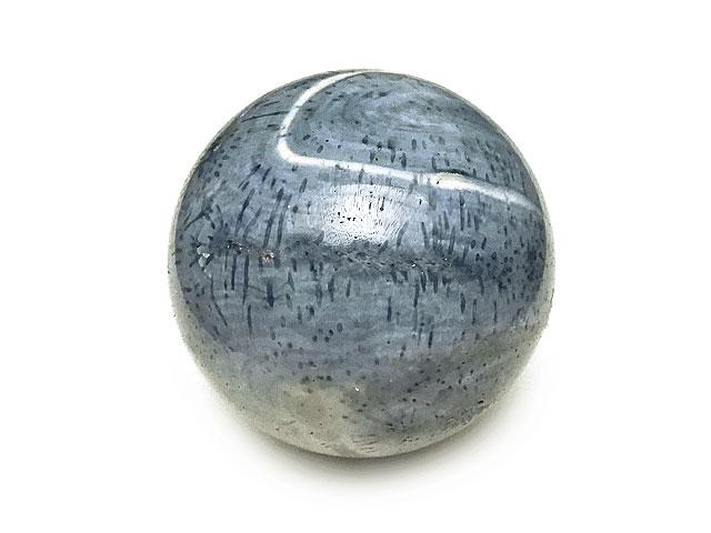 天然石ブルーコーラル(青珊瑚)スフィア 74mm No.1【1点もの 5,400円】ビーズとパワーストーン