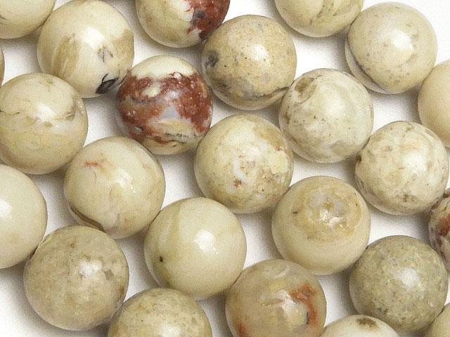 天然石【連販売】アフリカンオパール 丸玉 10mm No.2【1連 1,200円】ビーズとパワーストーン