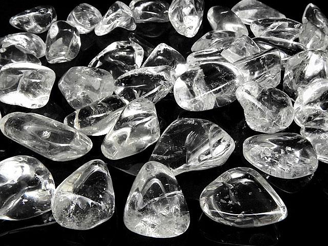 天然石【粒販売】天然水晶 クリスタルクォーツ ナゲット[穴なし]【20コ販売 500円】ビーズとパワーストーン