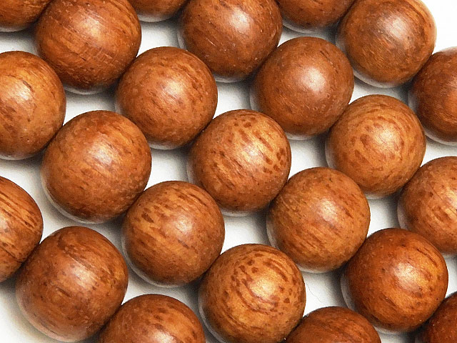 天然石【連販売】[ウッドビーズ]ブラウンウッド 丸玉 10mm【1連 450円】ビーズとパワーストーン