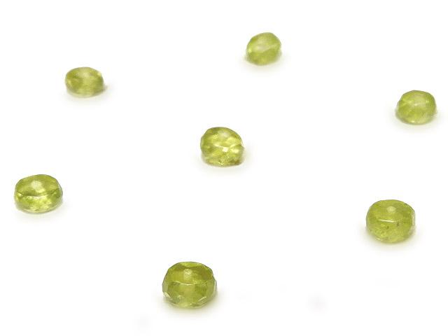 天然石【粒販売】グロッシュラーライトガーネット ボタンカット 3mm【20粒販売 480円】ビーズとパワーストーン
