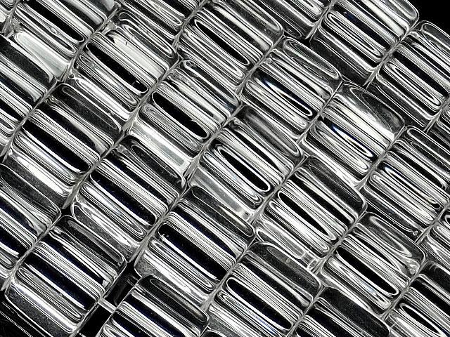 天然石【連販売】天然水晶 クリスタルクォーツ キューブ 8mm【1連 1,800円】ビーズとパワーストーン