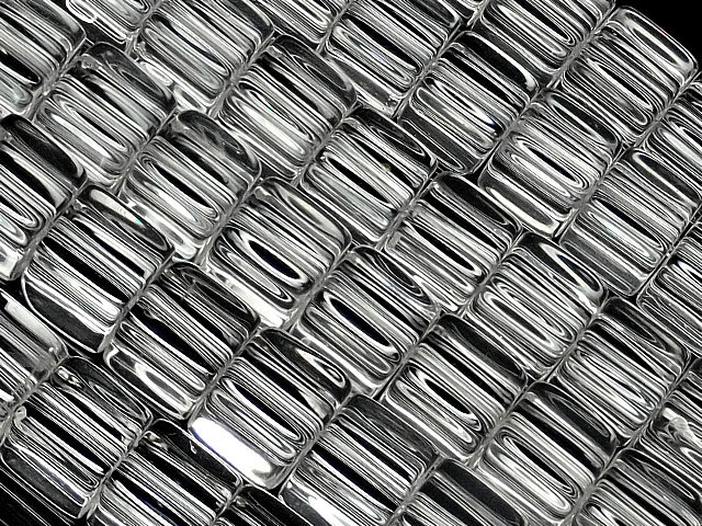 天然石【連販売】天然水晶 クリスタルクォーツ キューブ 6mm【1連 1,400円】ビーズとパワーストーン