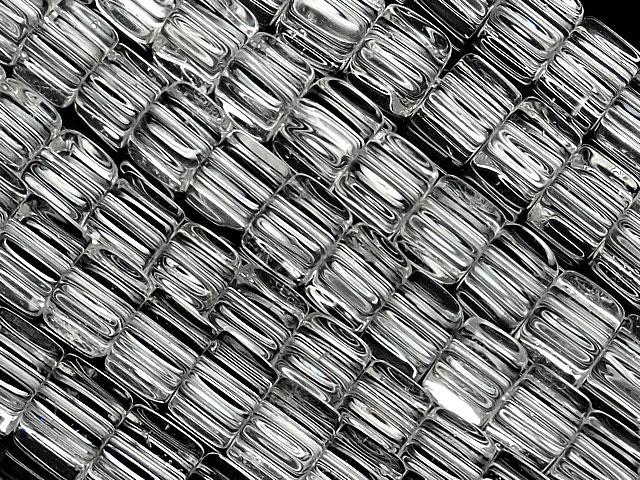 天然石【連販売】天然水晶 クリスタルクォーツ キューブ 4mm【1連 1,200円】ビーズとパワーストーン