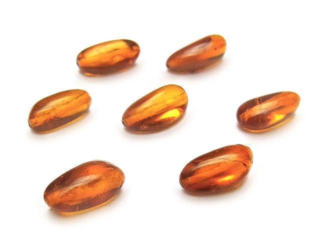 天然石【粒販売】バルティックアンバー(琥珀) ナゲット 9〜11mm【3粒販売 430円】ビーズとパワーストーン