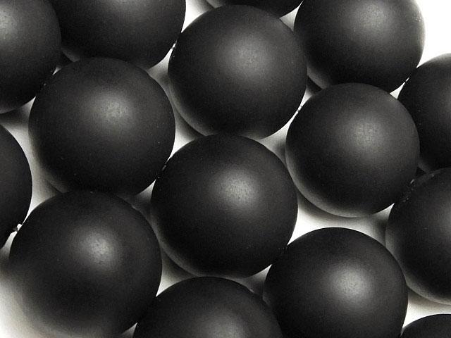 天然石【連販売】フロストオニキス 丸玉 12mm【1連 900円】ビーズとパワーストーン