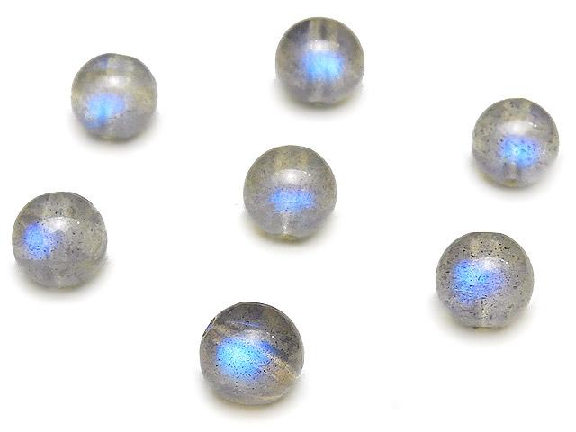 天然石【粒販売】ラブラドライト 丸玉 6mm【6粒販売 480円】ビーズとパワーストーン