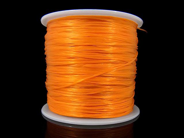 ビーズ天然石オペロンゴム ライトオレンジ【1コ販売 300円】とパワーストーン