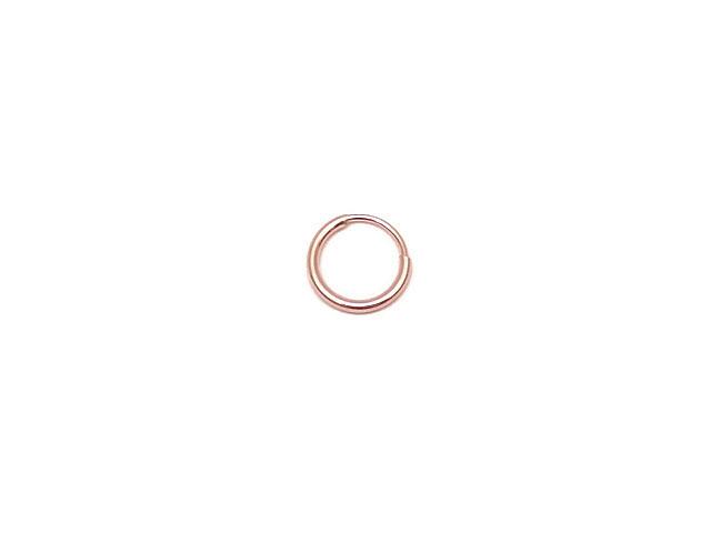 ビーズ天然石14KGF ピンクゴールドカラー フープピアス 9mm【1ペア販売 520円】とパワーストーン