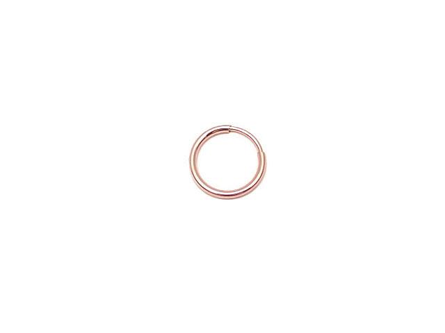 ビーズ天然石14KGF ピンクゴールドカラー フープピアス 12mm【1ペア販売 540円】とパワーストーン