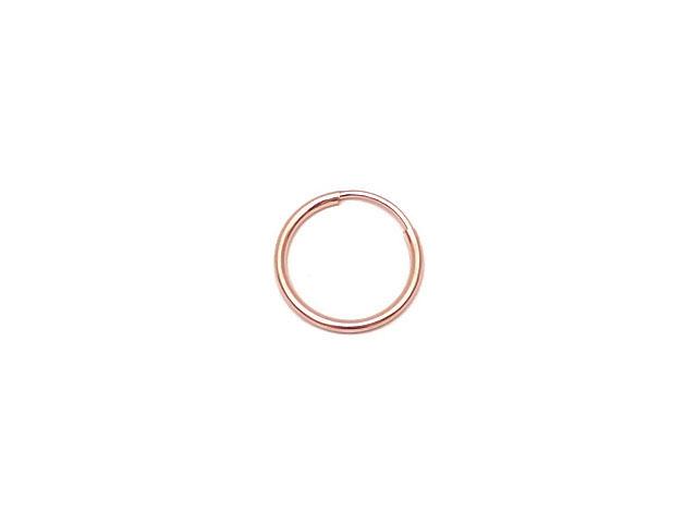 ビーズ天然石14KGF ピンクゴールドカラー フープピアス 14mm【1ペア販売 580円】とパワーストーン