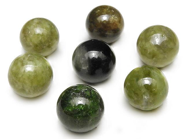 天然石【粒販売】マルチカラーグリーントルマリン 丸玉 10mm【4粒販売 600円】ビーズとパワーストーン