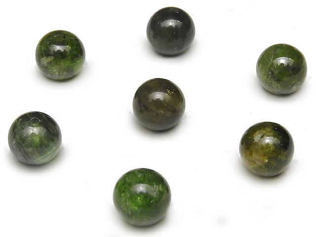 天然石【粒販売】マルチカラーグリーントルマリン 丸玉 6mm【8粒販売 420円】ビーズとパワーストーン