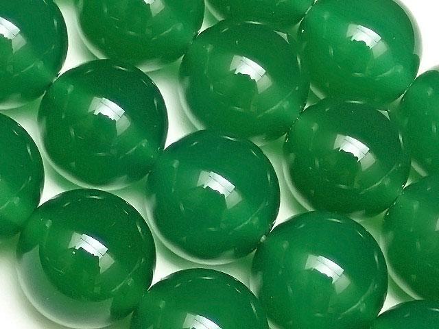 天然石【連販売】グリーンオニキス 丸玉 12mm【1連 900円】ビーズとパワーストーン